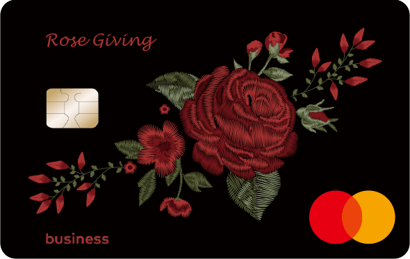 台新 玫瑰 giving 卡